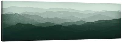 Green Mountains Canvas Art Print