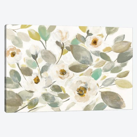 Blooming Branches II On White Canvas Print #WAC8724} by Silvia Vassileva Canvas Art Print