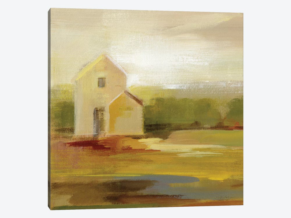 Hillside Barn I by Silvia Vassileva 1-piece Canvas Artwork