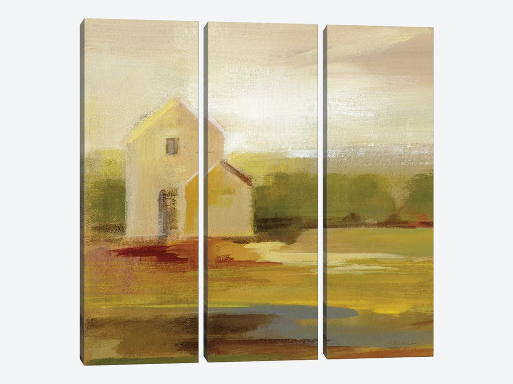 Hillside Barn I by Silvia Vassileva 3-piece Canvas Artwork
