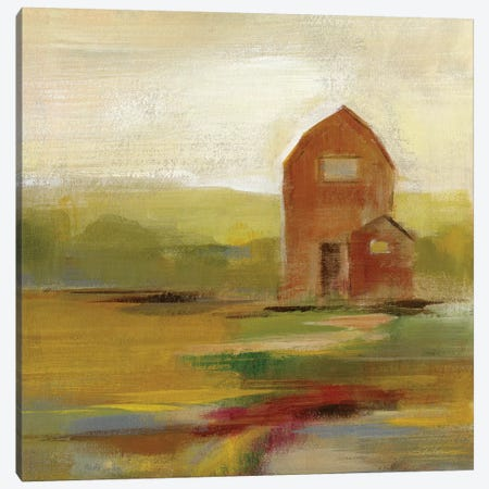 Hillside Barn II Canvas Print #WAC8727} by Silvia Vassileva Canvas Art Print