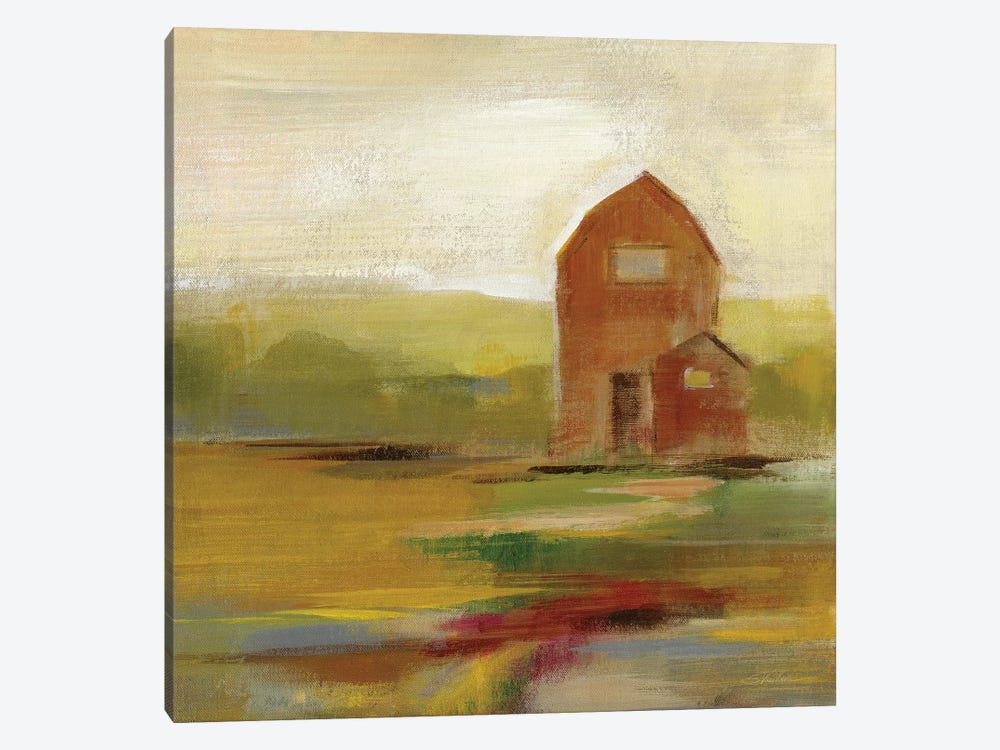 Hillside Barn II by Silvia Vassileva 1-piece Art Print