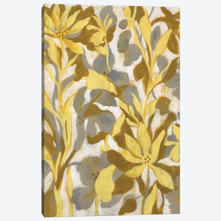 Painted Tropical Screen I Canvas Print #WAC8728} by Silvia Vassileva Canvas Art