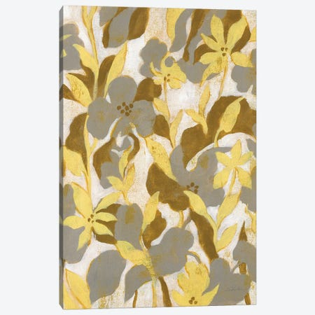 Painted Tropical Screen II Canvas Print #WAC8730} by Silvia Vassileva Canvas Print