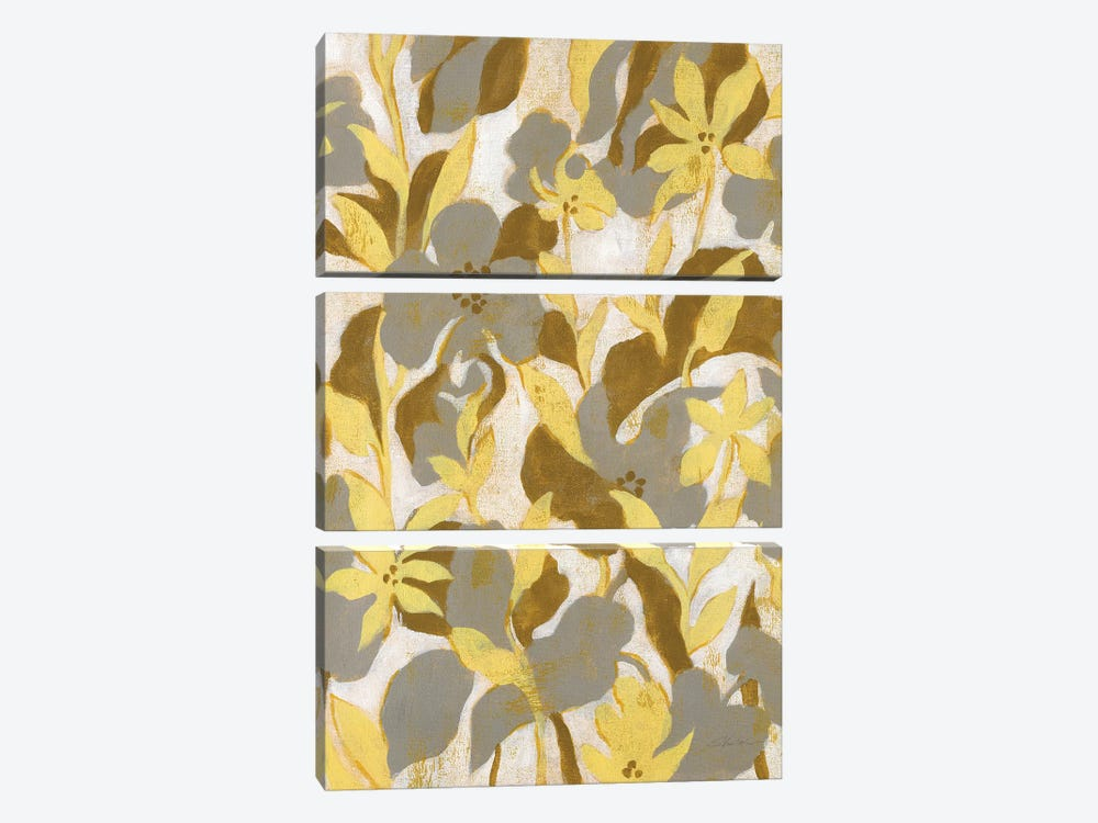 Painted Tropical Screen II by Silvia Vassileva 3-piece Art Print