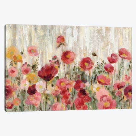 Sprinkled Flowers Canvas Print #WAC8732} by Silvia Vassileva Art Print