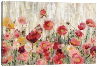 Sprinkled Flowers by Silvia Vassileva Canvas Art Print