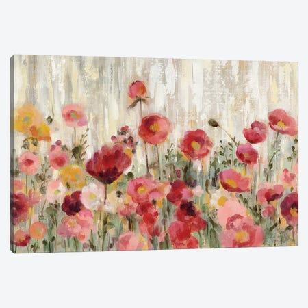 Sprinkled Flowers Canvas Print #WAC8732} by Silvia Vassileva Art Print