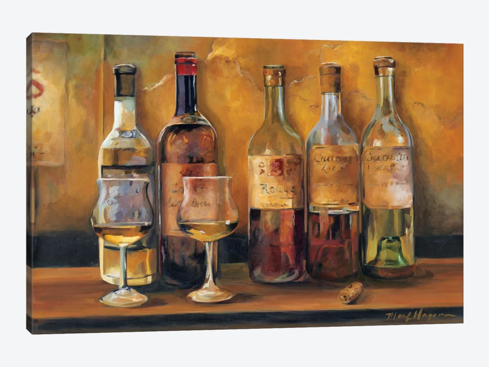 Cellar Whites by Marilyn Hageman 1-piece Canvas Print