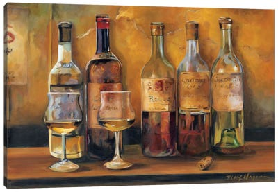 Cellar Whites Canvas Art Print
