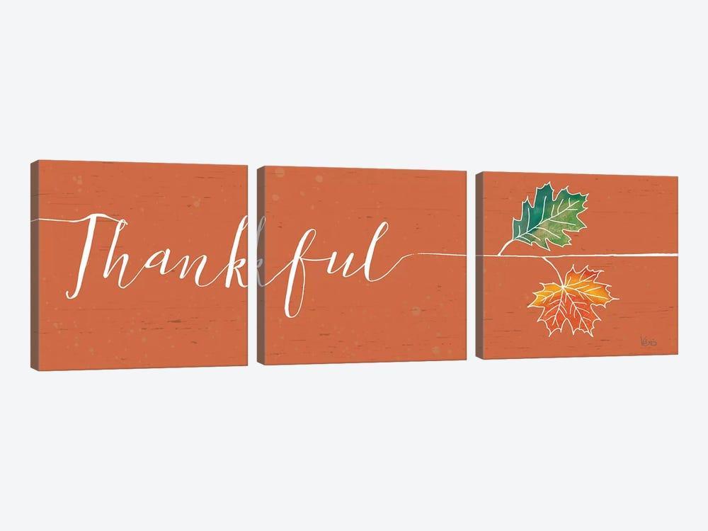 Underlined Fall III Color by Veronique Charron 3-piece Canvas Print