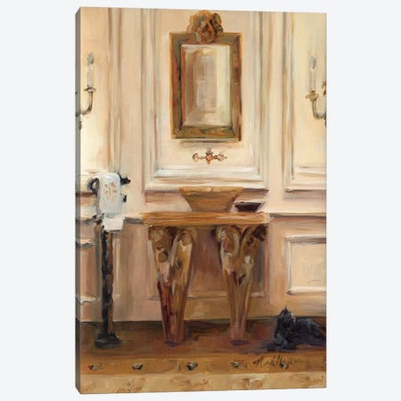Classical Bath I Canvas Print #WAC874} by Marilyn Hageman Canvas Artwork