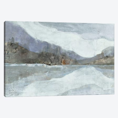 Light Winter Landscape Canvas Print #WAC8752} by Albena Hristova Canvas Art Print