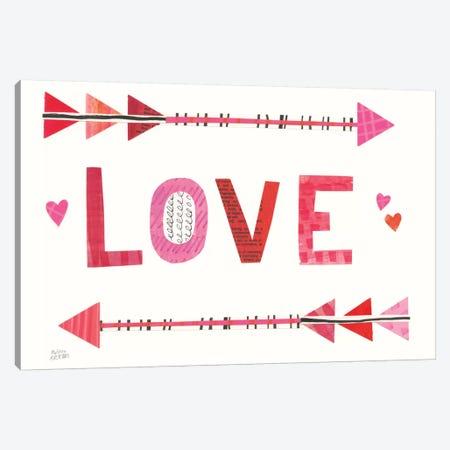 Love Words III Canvas Print #WAC8754} by Melissa Averinos Canvas Wall Art