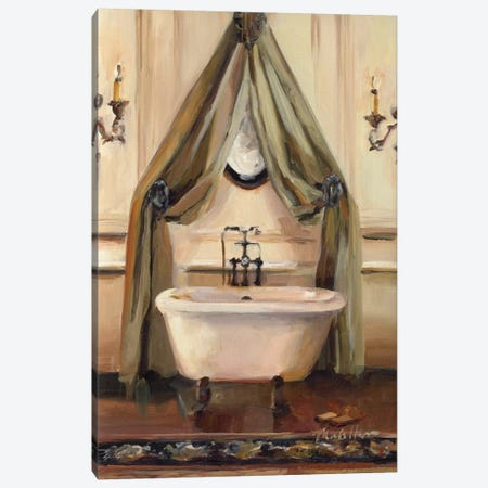 Classical Bath II Canvas Print #WAC875} by Marilyn Hageman Canvas Artwork