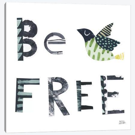 Bird Words I Canvas Print #WAC8761} by Melissa Averinos Canvas Art