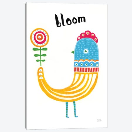 Blossom Birds II Canvas Print #WAC8765} by Melissa Averinos Canvas Art Print