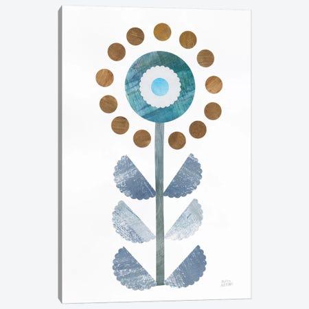 Retro Blooms II Canvas Print #WAC8768} by Melissa Averinos Canvas Artwork