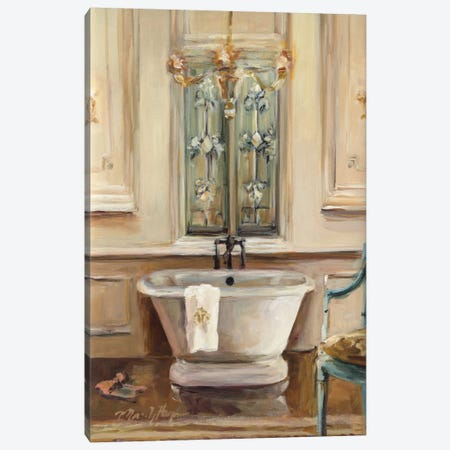 Classical Bath III Canvas Print #WAC876} by Marilyn Hageman Canvas Artwork