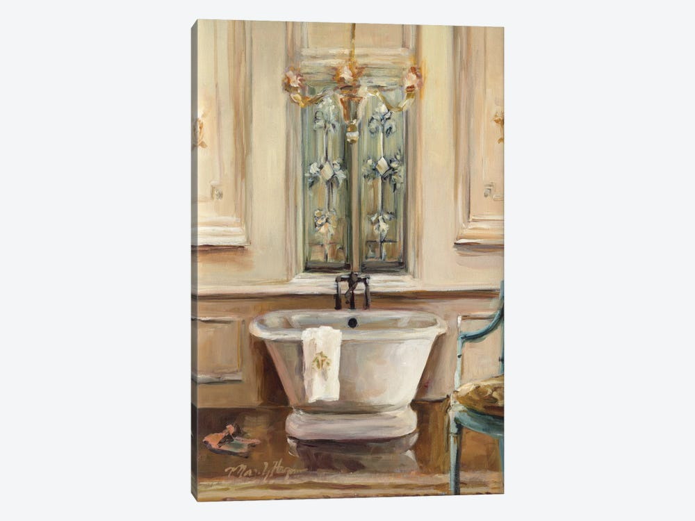 Classical Bath III by Marilyn Hageman 1-piece Canvas Art