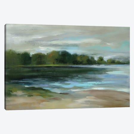 Lake Afternoon Stillness Canvas Print #WAC8771} by Silvia Vassileva Canvas Art Print