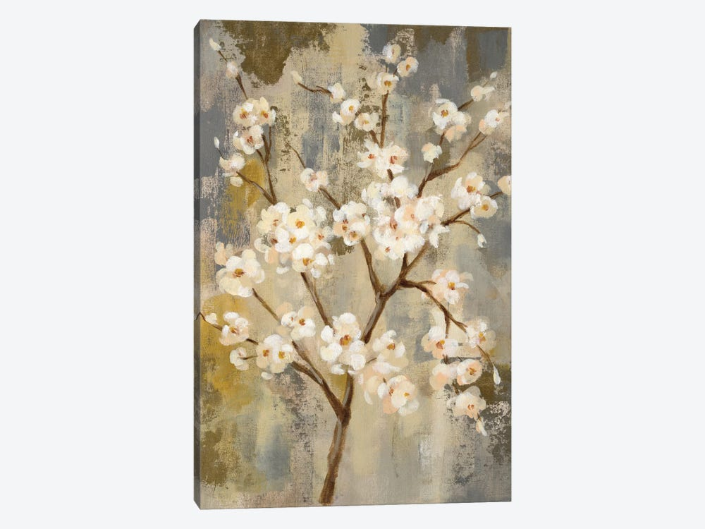 Neutral Branches I by Silvia Vassileva 1-piece Canvas Print