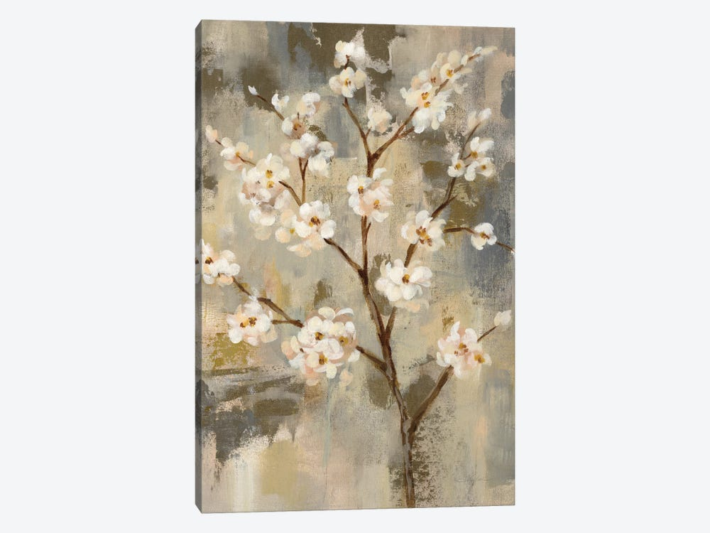 Neutral Branches II by Silvia Vassileva 1-piece Canvas Wall Art