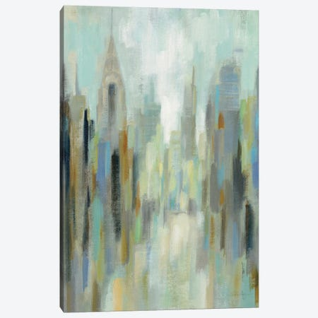 New York Morning I Canvas Print #WAC8774} by Silvia Vassileva Canvas Art