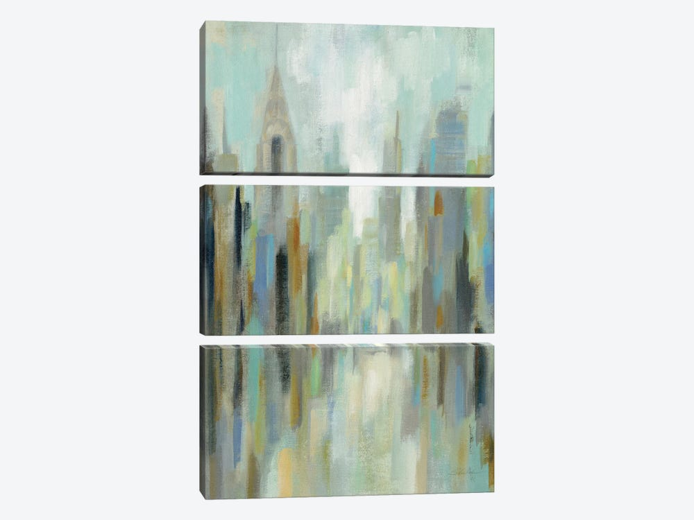 New York Morning I by Silvia Vassileva 3-piece Canvas Art Print