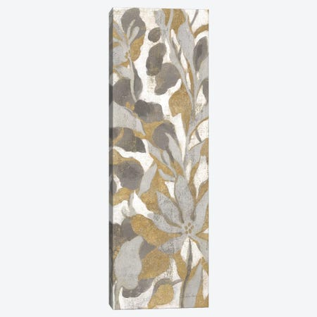 Painted Tropical Screen, Gray Gold I Canvas Print #WAC8776} by Silvia Vassileva Canvas Wall Art
