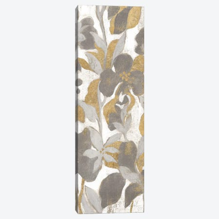 Painted Tropical Screen, Gray Gold II Canvas Print #WAC8777} by Silvia Vassileva Canvas Art
