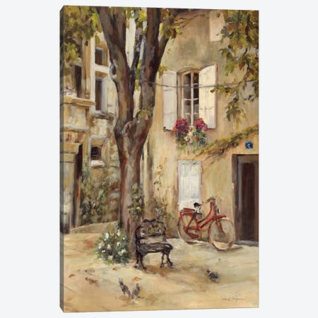 Provence Village I Canvas Print #WAC877} by Marilyn Hageman Canvas Art