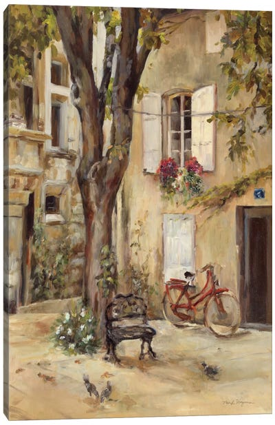 Provence Village I by Marilyn Hageman Canvas Art Print