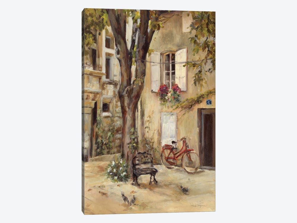 Provence Village I by Marilyn Hageman 1-piece Canvas Art Print