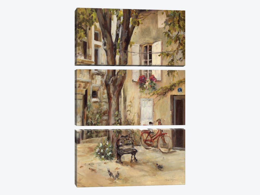 Provence Village I by Marilyn Hageman 3-piece Art Print