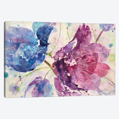 Fireworks Abstract Canvas Print #WAC8780} by Albena Hristova Canvas Wall Art