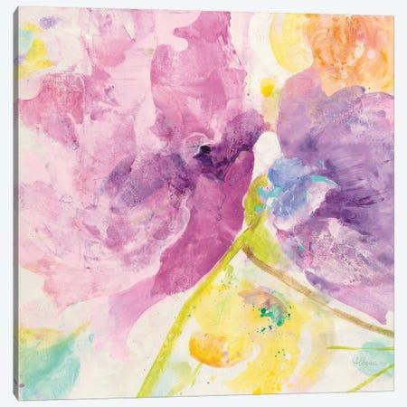 Spring Abstract Florals III Canvas Print #WAC8784} by Albena Hristova Canvas Print