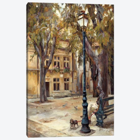 Provence Village II Canvas Print #WAC878} by Marilyn Hageman Art Print