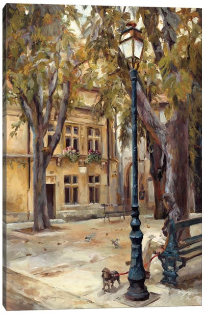 Provence Village II by Marilyn Hageman Canvas Art Print