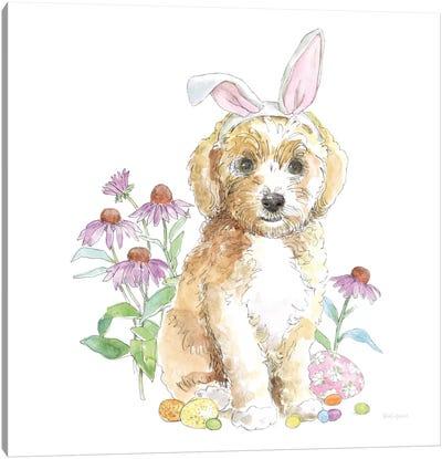 Easter Pups IV Canvas Art Print