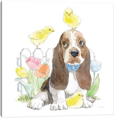 Easter Pups V Canvas Art Print