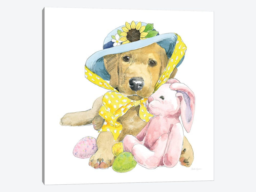 Easter Pups VI by Beth Grove 1-piece Art Print