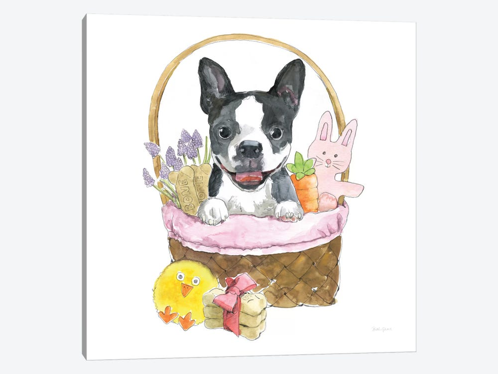 Easter Pups VII by Beth Grove 1-piece Canvas Art