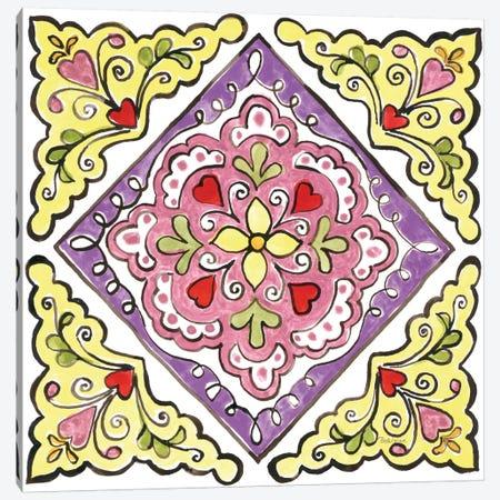 Sunny Bouquets VI Canvas Print #WAC8797} by Beth Grove Canvas Wall Art