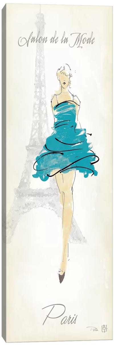 Fashion Lady I Canvas Art Print