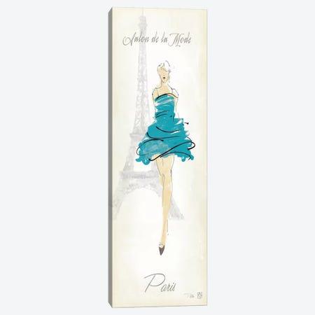 Fashion Lady I Canvas Print #WAC87} by Avery Tillmon Canvas Artwork