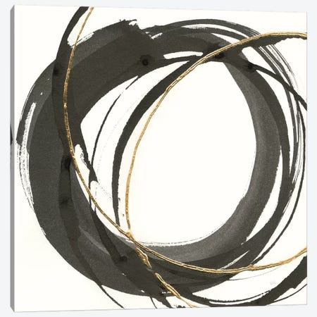 Gilded Enso I Canvas Print #WAC8800} by Chris Paschke Art Print