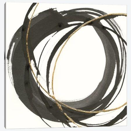 Gilded Enso I Canvas Print #WAC8800} by Chris Paschke Art Print