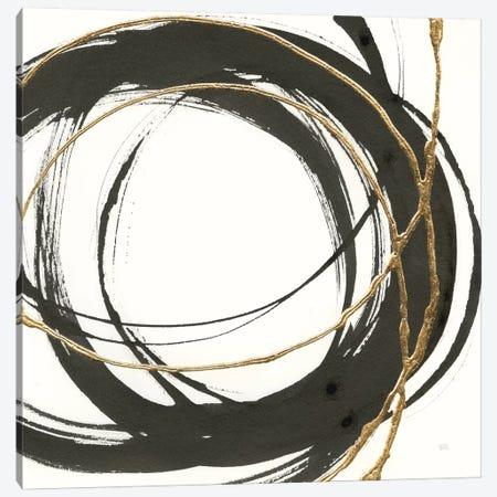 Gilded Enso II Canvas Print #WAC8801} by Chris Paschke Art Print