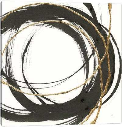 Gilded Enso II Canvas Art Print